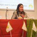"""Juana Berta Duarte Somoza, la ganadora del Premio """"Mujeres Cultivadoras del Desarrollo"""". Foto par Elodie Perriot/Caritas"""