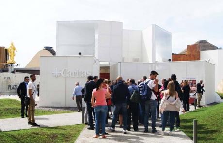 En la Expo 2015 de Milán se celebra el Día de Caritas