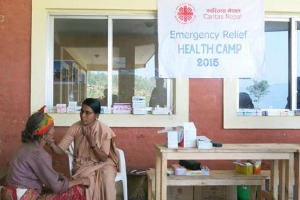 Caritas health workers overcome loss through service