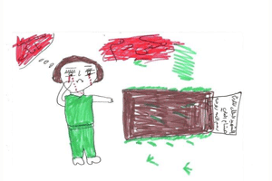 What is their tomorrow going to be: Drawings from Syrian children