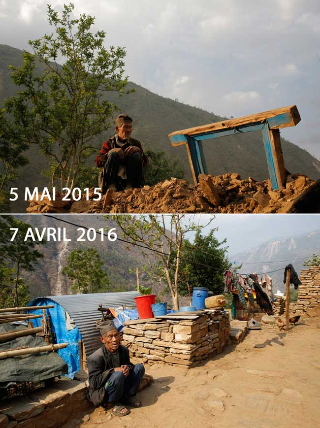 Nawang Tamang reunited one year after Nepal earthquake