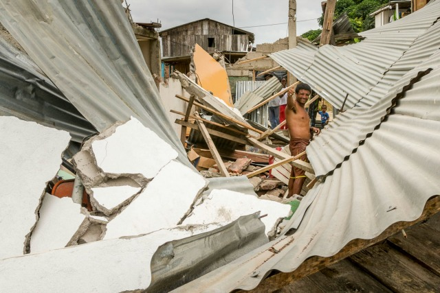 Caritas is responding to the earthquake with assessments and relief. Photo by Eduardo Naranjo for Catholic Relief Services