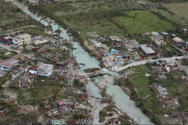 15,500 people have fled their homes in Haiti and 350,000 need help. Credit: Caritas