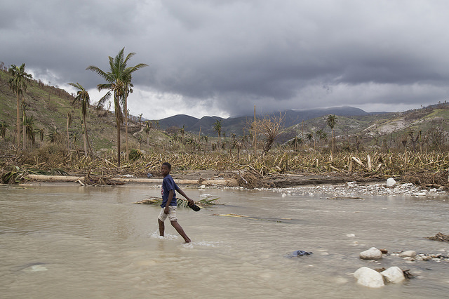 Hurricane Matthew devastated southern Haiti. Copyright: Marie Arago/Catholic Relief Services