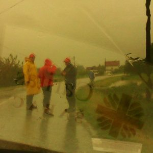 Caritas providing aid in Balkan floods