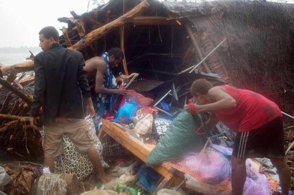 Vanuatu counts cost of Cyclone Pam