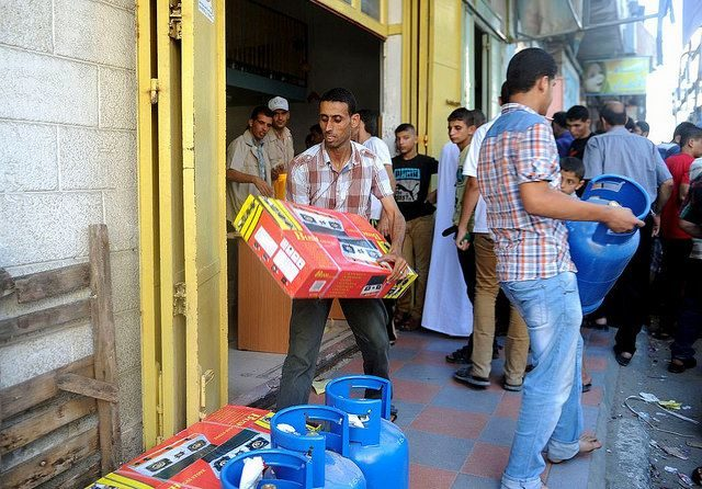 CRS aid gets through to Gaza