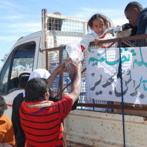 A surge of solidarity at the Tunisian-Libyan border
