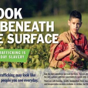 Lifting the lid on human trafficking