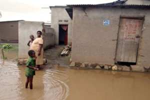 Rehabilitation project for flood victims in Burundi