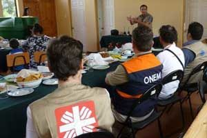 Caritas fighting fires with knowledge and preparation in Chile