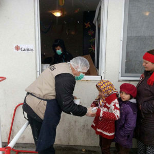 Caritas helps vulnerable people suffering from cold winter