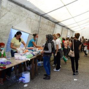 Life inside a refugee reception centre in Croatia