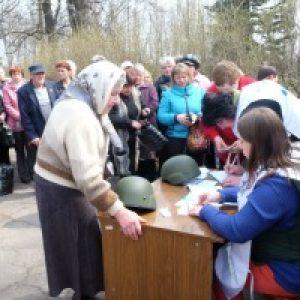 War-torn Ukraine needs aid
