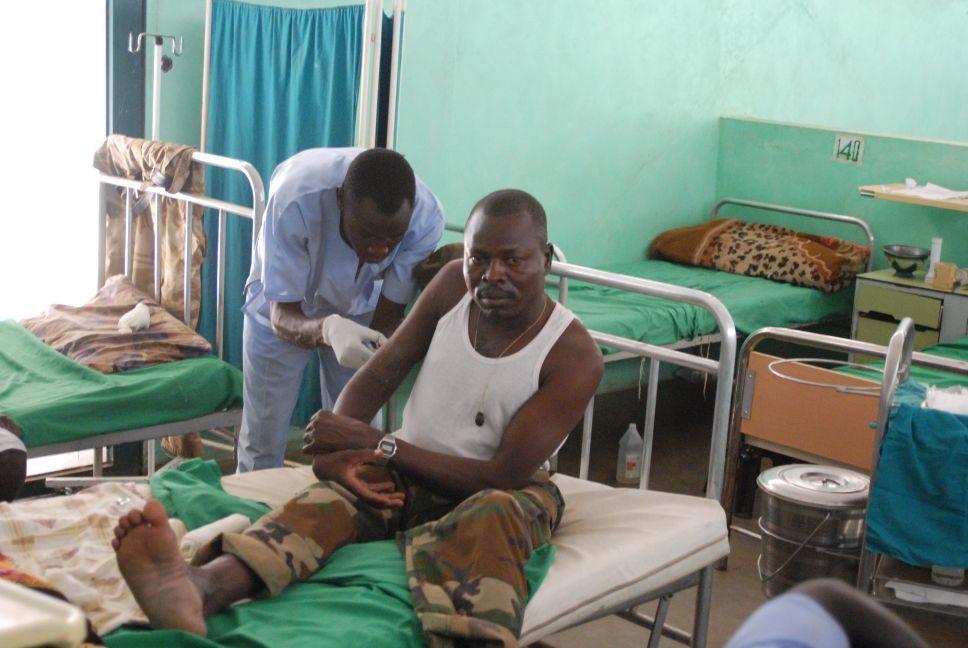 Lifeline to Sudan's beseiged Nuba Mountains