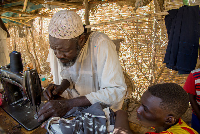 Throwing a lifeline to Darfur