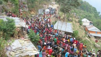 Caritas reaches families of Nepalese migrant workers