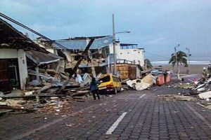 Tents and rescue boats needed in Ecuador after quake