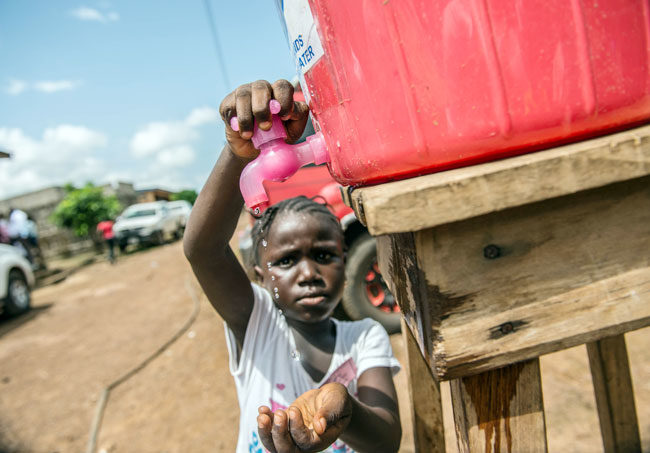 Sierra Leone's Ebola crisis in pictures