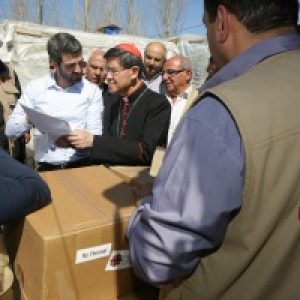 Cardinal Tagle visits Syrian refugees in Lebanon