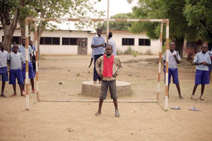A game of two boots: Football match in CAR is solidarity in action