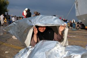 Which way is Sweden? The refugee crisis on Lesbos