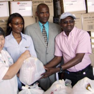 Caritas sister hits the road to fight hunger in Namibia
