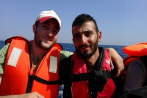 Caritas worker in Syria, refugee in Europe