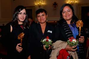 These women are brave': Caritas women prizewinners honored