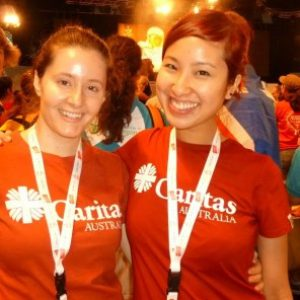 Caritas Australia team in Madrid for World Youth Day