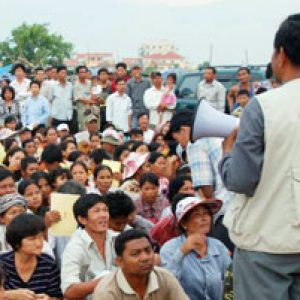 Cambodia threatened by climate change