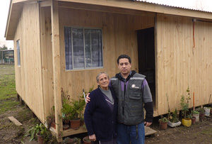 Six months after Chile quake