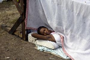 Cholera in Haiti's camps