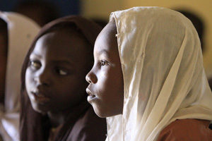 Supporting half a million people in Darfur