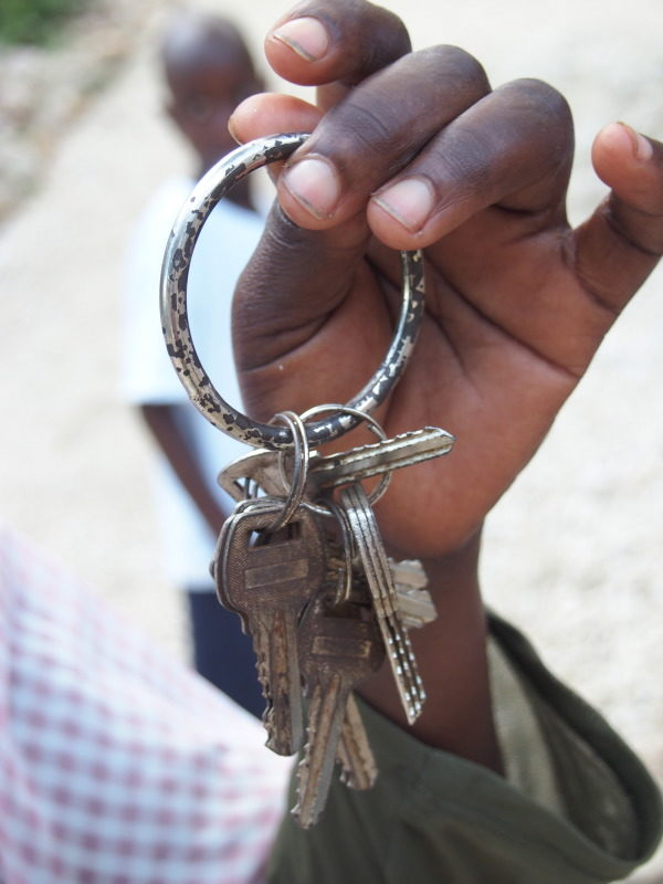 New homes for Haitians