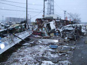 Caritas Japan visits earthquake-hit Sendai City