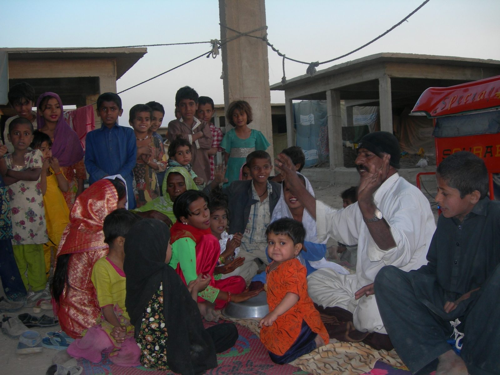 Caritas Pakistan shares joys with flood victims