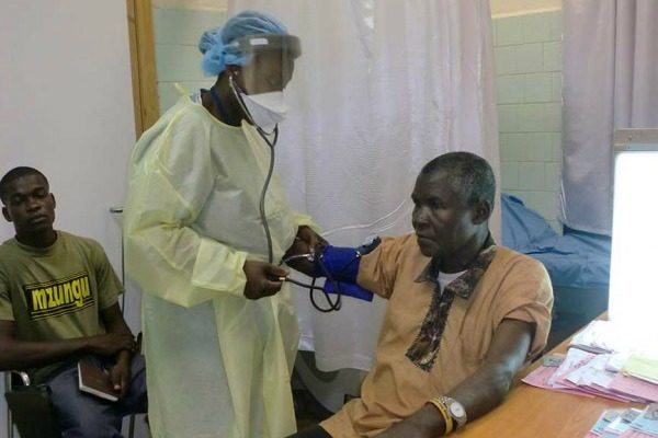 No touch' rules in Africa after Ebola