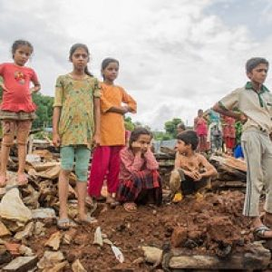 In Nepal earthquake response, topography is central player