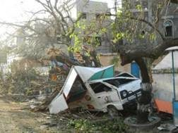 Aid reaching survivors of Cyclone Thane in India