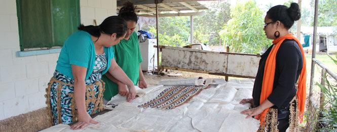 International Women's Day: Tapa in Tonga