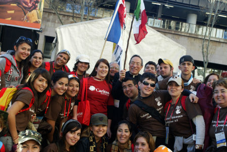Come to World Youth Day with Caritas!