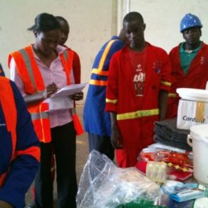International aid on its way to Goma in Congo