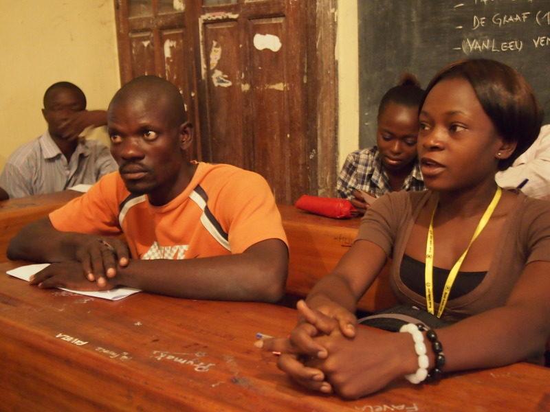 Mobilisation de la jeunesse congolaise.