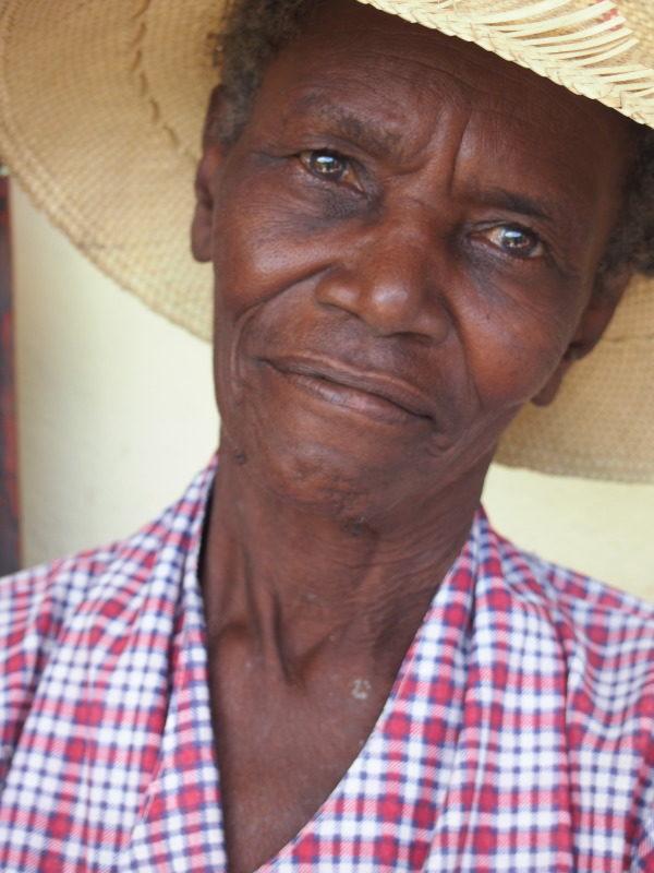 Haiti's elderly get their zest back