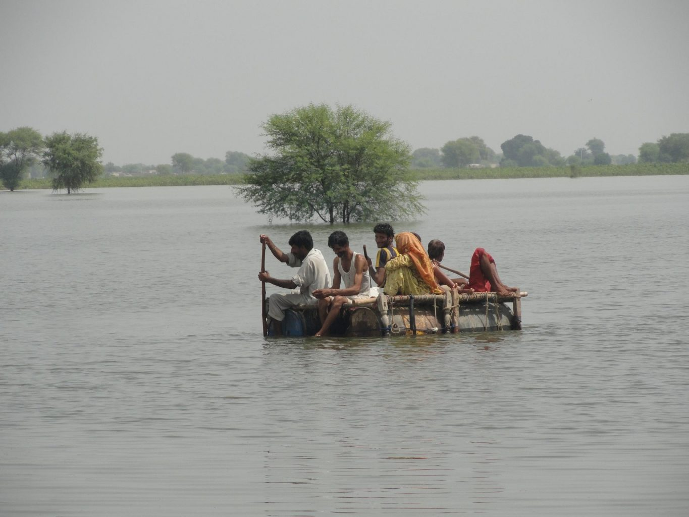 Keeping a promise: Caritas helps Pakistan's latest flood victims