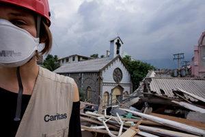 Haiti: A voice in the rubble