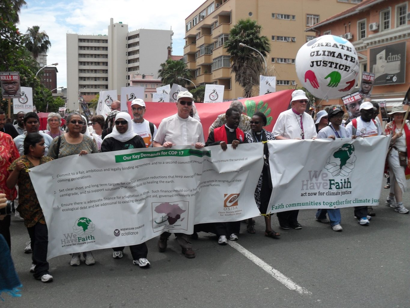 Durban talks: Climate justice and food security