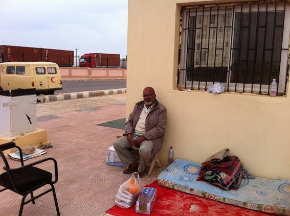 The story of Samer and Maryam, Palestinian migrants fleeing from Libya