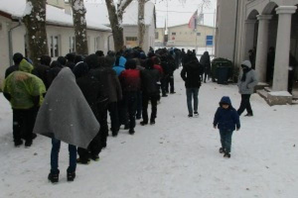 More help needed for refugees in Serbia